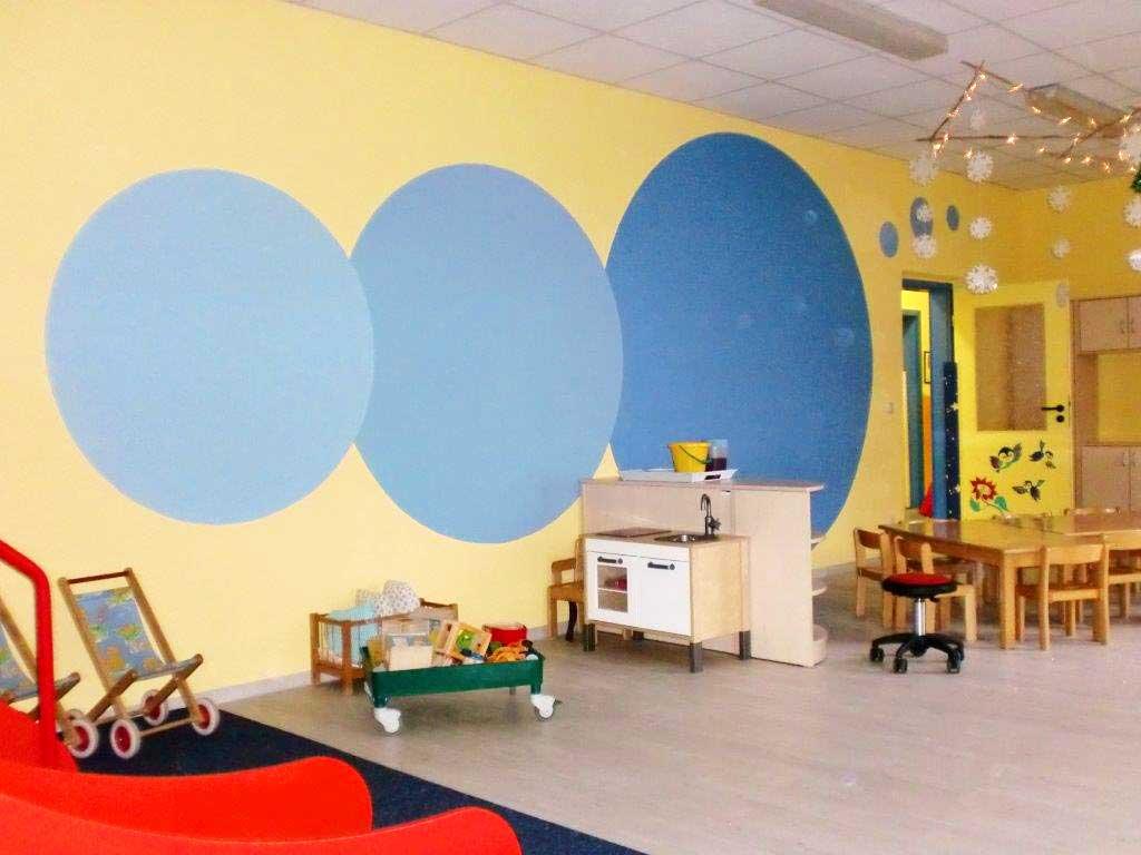 Individuelle wandgestaltung im kindergarten - Wandgestaltung kinder ...